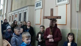 Droga krzyżowa dzieci